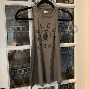 Volvimos high neck tank top
